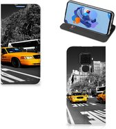 Huawei Mate 30 Lite Book Cover New York Taxi