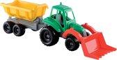 écoiffier Tractor Met Aanhanger 52 Cm