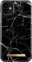 iDeal of Sweden - iPhone 11 Hoesje - Fashion Back Case Black Marble