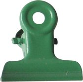 LPC Papierklem Bulldog clip groen - 51 mm -20 stuks
