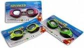 2x Anti-chloor bril voor kinderen - Zwembad - Duikbril - Zwembril