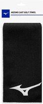 Mizuno Micro Fibre Towel golfhanddoek - zwart