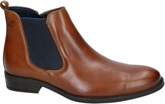 Fluchos -Heren -  cognac/caramel - bottine gekleed - maat 41
