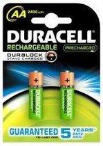 Duracell AA Oplaadbare Batterijen - 2500 mAh - 2 stuks