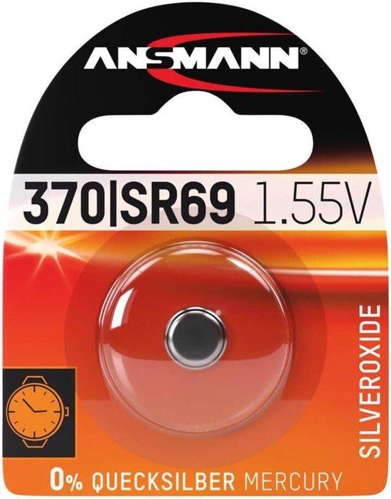 Ansmann horloge batterij Silveroxid 1.55V SR69/370/371 - Ansmann