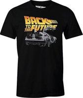 Back to the Future - Dologo Black T-Shirt M