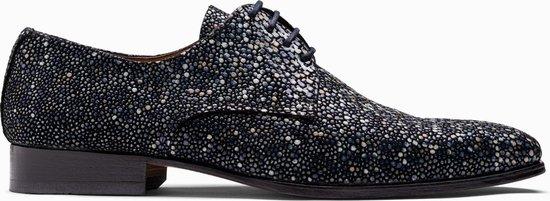 Paulo Bellini Dress Shoe Carbonia Leather Light Blue