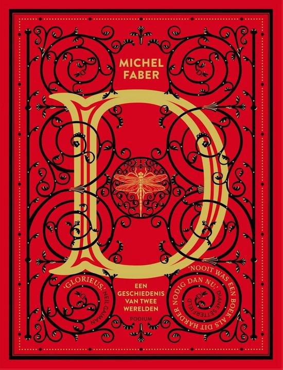 Boek cover D van Michel Faber (Onbekend)