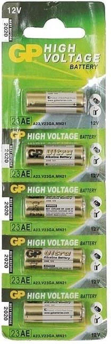 GP Batteries Ultra Alkaline GP 23AE C5