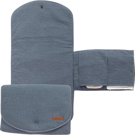 Product: Little Dutch Verschoningsmatje Comfort - Blauw, van het merk Little Dutch
