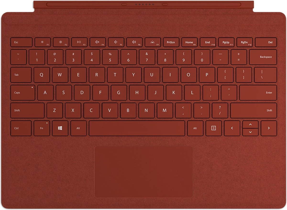 Microsoft Surface Go Signature – Tablettoetsenbord – Rood – Qwerty