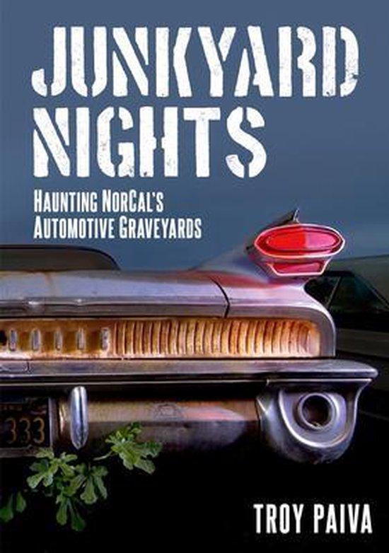 Boek cover Junkyard Nights van Troy Paiva (Paperback)