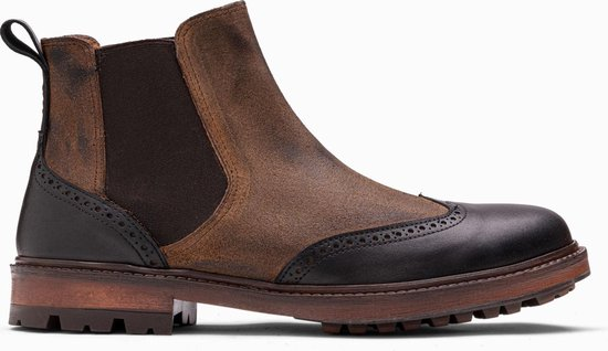 Paulo Bellini Chelsea Boot Oristano Leather Black|Brown