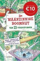 Boekomslag van 'De Waanzinnige Boomhut 1 - De waanzinnige boomhut van 13 verdiepingen'