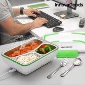 InnovaGoods Pro 50W White Green Elektrische Lunchbox