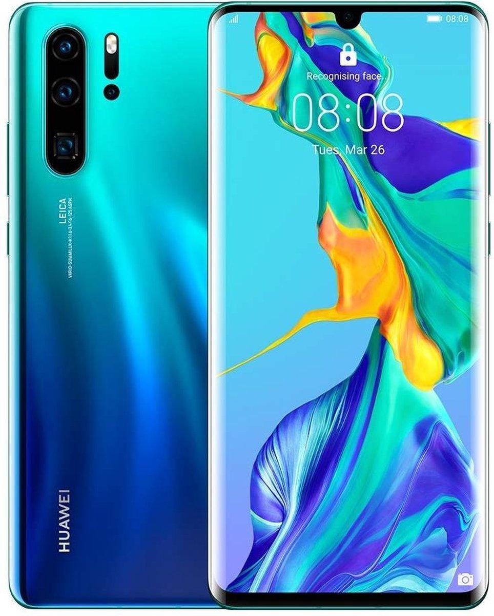 Huawei P30 Pro Duo – Alloccaz Refurbished – B grade (Licht gebruikt) – 128GB – Blauw (Aurora)