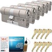 Cilinderslot M&C Matrix SKG*** (6 stuks)