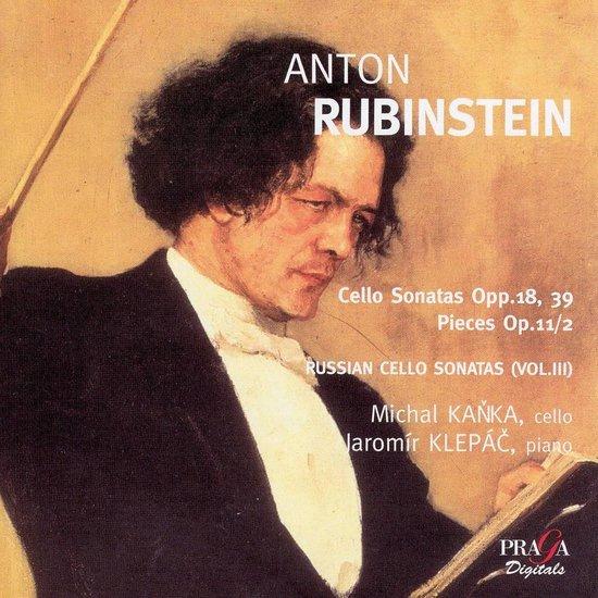 Cello Son.Opp.18 & 39 / Pieces Op.1