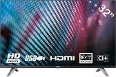 YASIN YT32HTB1 LED TV (32 inch HD TV). CI+. HDMI+USB. Triple Tuner. 60Hz. USB Mediaplayer