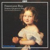 Ferdinand Ries: String Quartets, Vol. 1