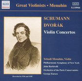 Great Violinists - Menuhin - Schumann, Dvorak: Violin Concertos