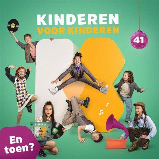 CD cover van Kinderen Voor Kinderen - Deel 41 - En toen? van Kinderen voor Kinderen