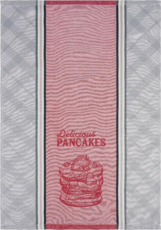 Clarysse Theedoek Pancakes Grijs 50x70cm