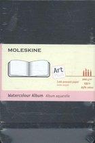 Moleskine Art Waterverf Album Pocket - Hard cover - Blanco - Zwart