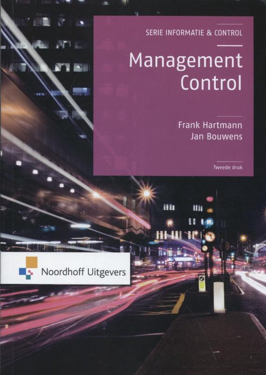 Informatie & Control - Management control