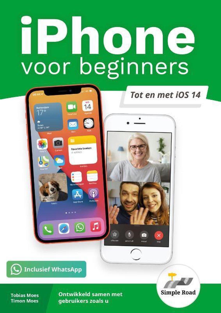 iPhone boek voor beginners   t/m iOS 14   in kleur