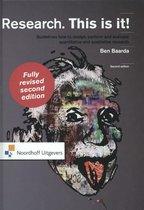 Boek cover Research. This is it! van Ben Baarda
