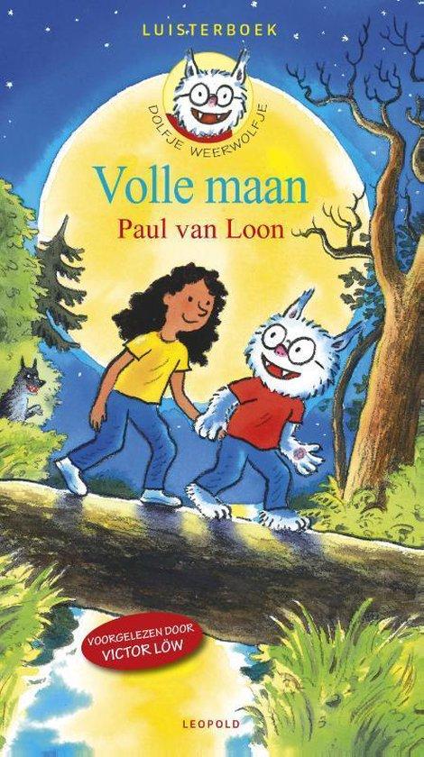 Boek cover Dolfje Weerwolfje 2 - Volle maan (2CD luisterboek) van Paul van Loon (Onbekend)