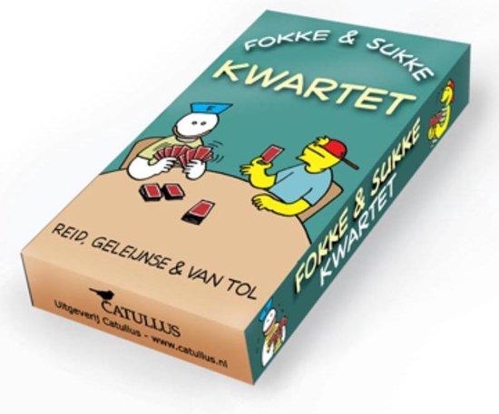 Boek cover Fokke & Sukke  -   Fokke & Sukke kwartet van Reid (Onbekend)