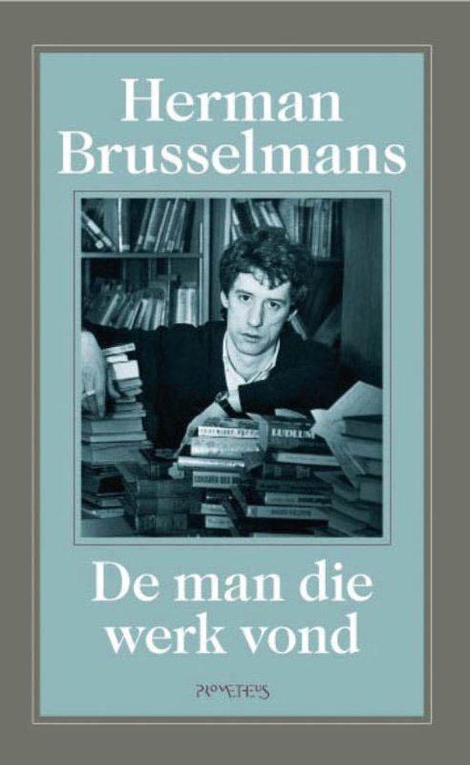 Cover van het boek 'De man die werk vond' van Herman Brusselmans