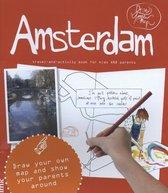 Boek cover DrawYourMap  -   Amsterdam van Robin Bertus