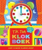 Kinderboeken Rebo Prentenboek - Tik tak klokboek (karton met klok). 3+
