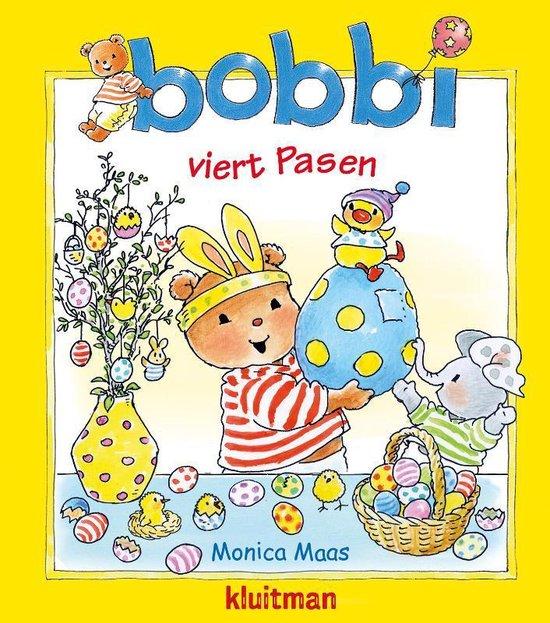 Boek cover Bobbi  -   Bobbi viert Pasen van Monica Maas (Hardcover)