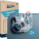 Apple iPhone 12 Pro Max Camera Lens screenprotector - 2 stuks - Just in Case