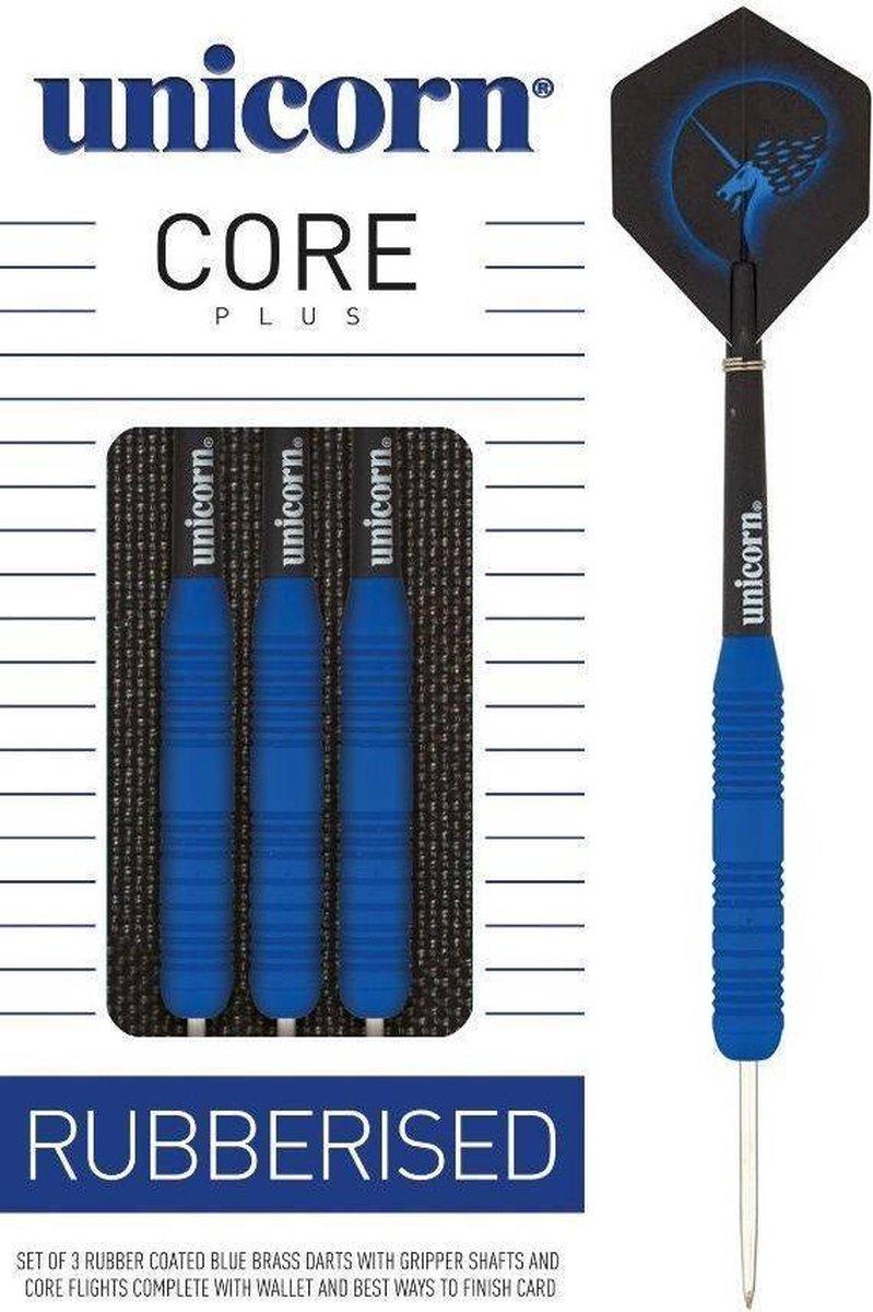 Unicorn Core Plus Rubberised Blue - 23 Gram