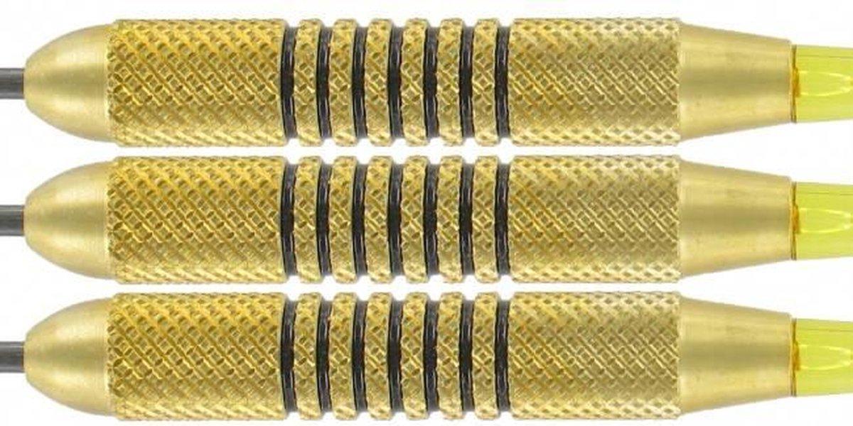 McKicks Speedy Yellow Brass - Dartpijl 24 gram