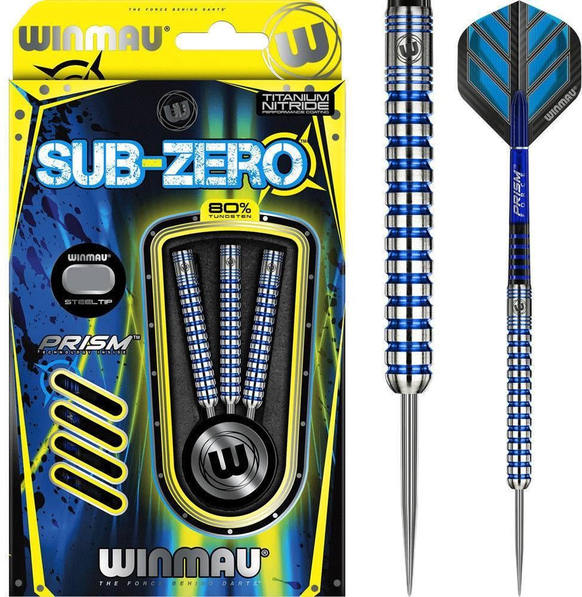 Winmau Subzero 80% Straight - 24 Gram