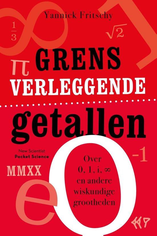 Boek cover Grensverleggende getallen van Yannick Fritschy (Onbekend)