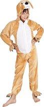 Onesie Kinderkostuum Hond Pluche - Maat 140 - Carnavalskleding