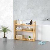 Casaria 2-in-1 wandplank & staande plank van bamboe