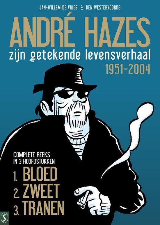 Boek cover André Hazes, de stripbiografie  -   Zijn getekende levensverhaal van Jan-Willem de Vries (Hardcover)