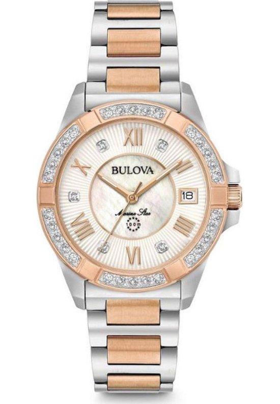 Bulova Marine Star 98R234 Horloge – Staal – Multi – Ø 32 mm
