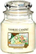 Yankee Candle Medium Jar Geurkaars - Christmas Cookie