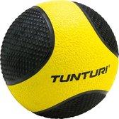 Tunturi Medicine Ball - Medicijnbal - 1kg - Geel/Zwart - Rubber