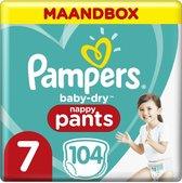 Pampers Baby Dry Pants Luierbroekjes - Maat 7 (17+