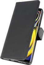 Wicked Narwal | bookstyle / book case/ wallet case Wallet Cases Hoes voor Samsung Galaxy Note 9 Zwart